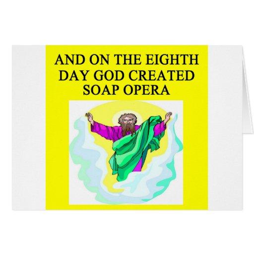 god created soap opera cards