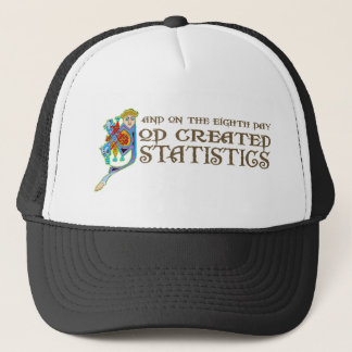 God Created Statistics Trucker Hat
