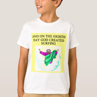 god created surfing T-Shirt