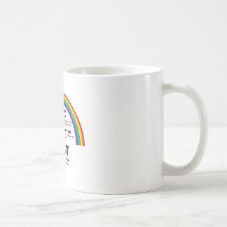 God Created the Rainbow Coffee Mug