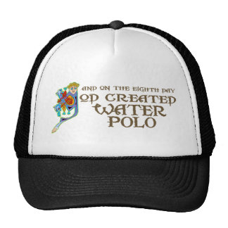God Created Water Polo Trucker Hat