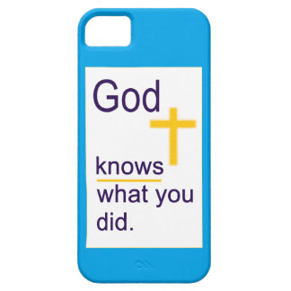 God Cross iPhone 5 Covers