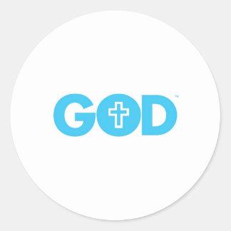 God Cross Stickers