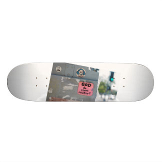 God do lives matter by Adam Battaglia (ft. Sheep) Skateboard Deck