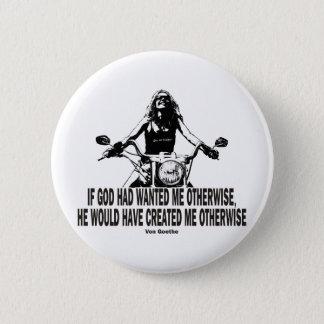 God Don't Hate Women Bikers Button