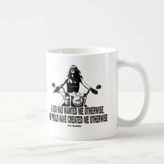 God Don't Hate Women Bikers Coffee Mug