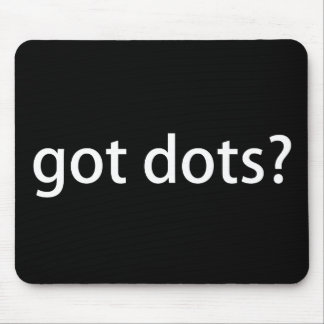 God Dots Funny Marching Band Mouse Pad