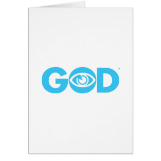 God Eye is watching Greeting Card