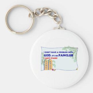 God FanClub Keychain