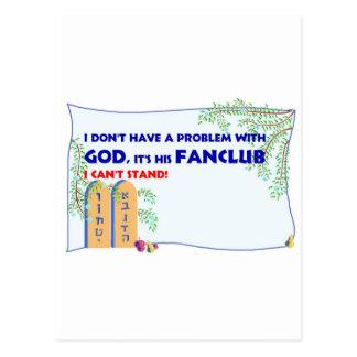 God FanClub Postcard
