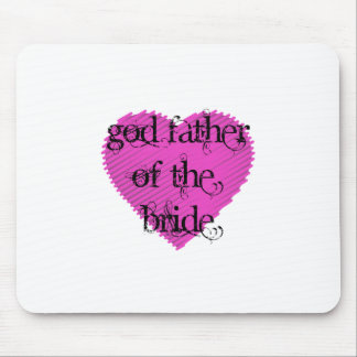 God Father of the Bride Mouse Pad