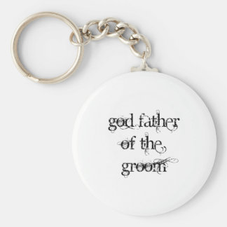 God Father of the Groom Keychain