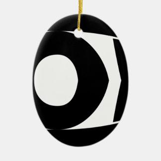 God Fish Ceramic Ornament