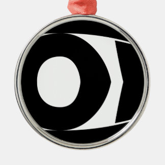God Fish Metal Ornament