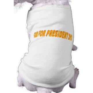 God For President 2012 T-Shirt