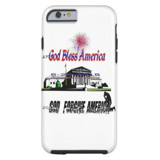 God forgive America Tough iPhone 6 Case