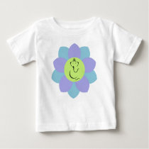 God Ganesh Flower pattern Baby T-Shirt