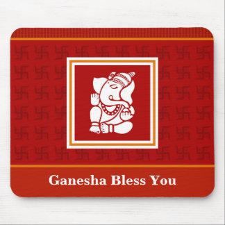 God Ganesha Mouse Pads