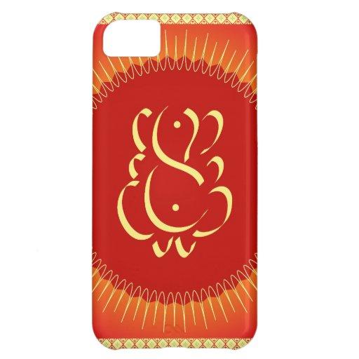 God Ganesha with sun rays iPhone 5C Case