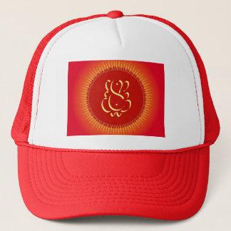 God Ganesha with sun rays Trucker Hat