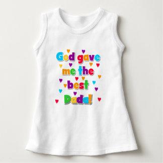 God Gave Me the Best Dada Baby Dress
