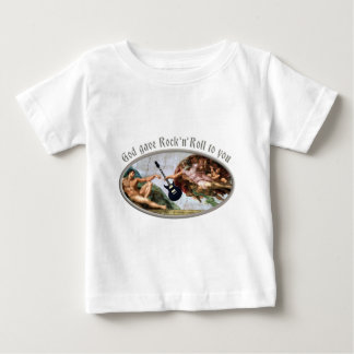 God gave skirt and roll ton you baby T-Shirt