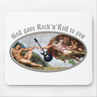 God gave skirt and roll ton you mouse pad