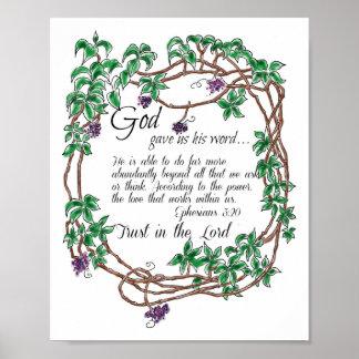 God Gave Us... Print
