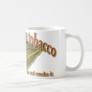 God Gave Us Tobacco Coffee Mug