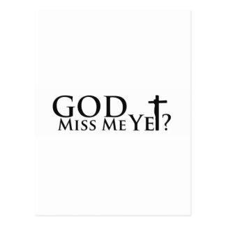 God Gear Inspirational Gifts Christian Gifts Postcard