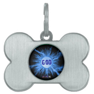 GOD GIFTS CUSTOMIZABLE PRODUCTS PET NAME TAGS