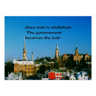 God,Government Poster