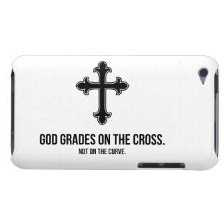 God Grades on the Cross iPod Case-Mate Case