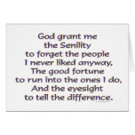 God Grant Me Humor Card