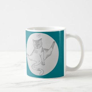God grant me the Immutable self-confidence of cats Coffee Mug