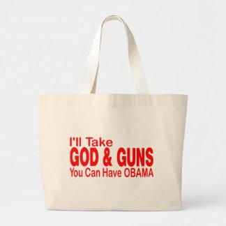 GOD & GUNS CANVAS BAGS