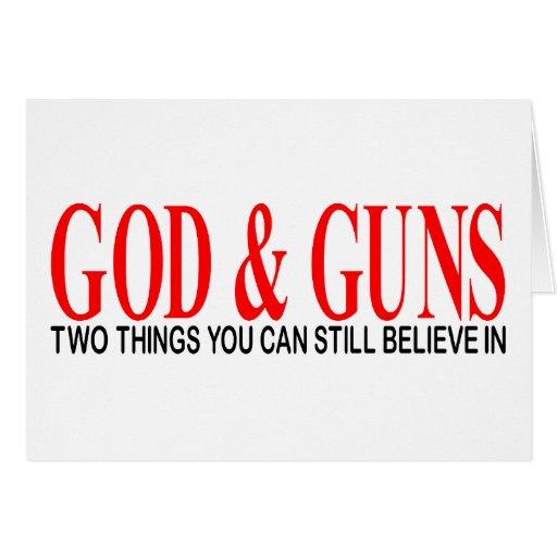 GOD & GUNS CARD
