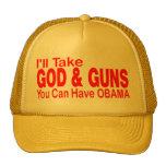 GOD & GUNS TRUCKER HAT