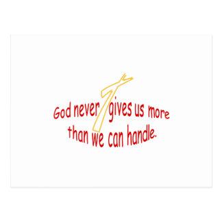 God Handles Postcard