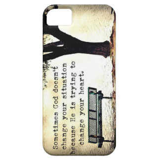 God has a Plan for everything iPhone SE/5/5s Case