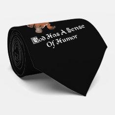 God Has A Sense Of Humor - Funny Platypus Neck Tie at Zazzle