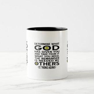 God Has Given Coffee Mug