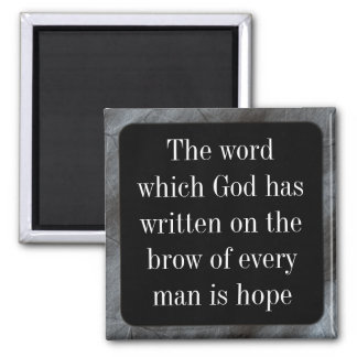 God has given us all the blessing of hope magnet
