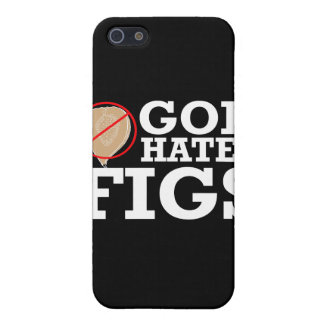 GOD HATES FIGS - WHITE -.png Covers For iPhone 5