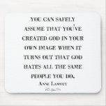 God Hates Like You Mousepad