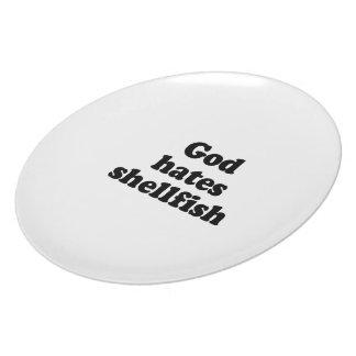 God hates shellfish.png plate