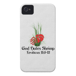 God Hates Shrimp iPhone 4 Case-Mate Case