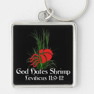 God Hates Shrimp Keychain