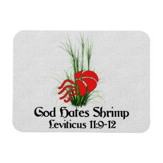 God Hates Shrimp Magnet