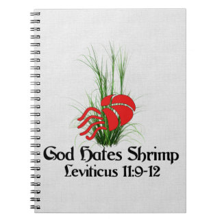 God Hates Shrimp Notebook